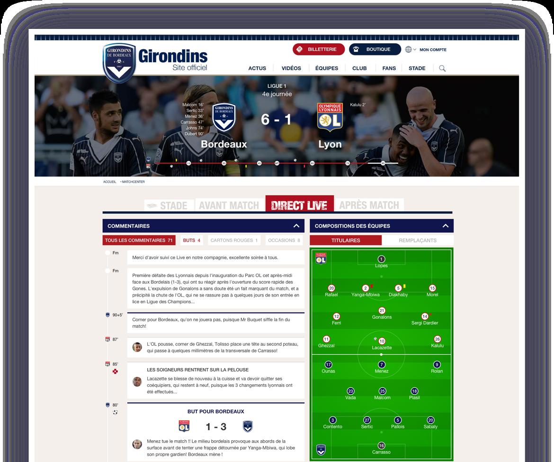 Girondins screenshot